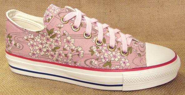 【桜 no,1 [pink] 裏カタログ】●こだわり派の方やコンバースのオールスター派のオシャレさん必見のスニーカーです!
