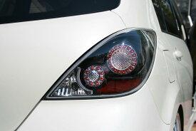 ティーダ用LEDテールRR 国産車ブラックNISSAN VERSA LED TAILLAMP BLACK日産ティーダ用品
