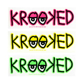 KROOKED STICKER クルキッド ステッカーEYES BAR 432 スケートボード スケボー SKATEBOARD