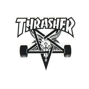 THRASHER STICKER スラッシャー ステッカー SKATE GOAT 330(US企画) スケートボード スケボー
