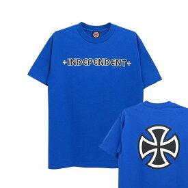 INDEPENDENT T-SHIRT インディペンデント Tシャツ BAR CROSS スケートボード スケボー SKATEBOARD