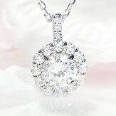 Pt900【1.10ct】ダイヤモンドネックレス