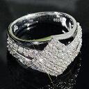 ダイヤモンド プラチナ たっぷり パヴェリング