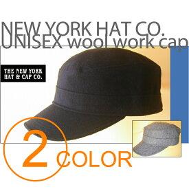 ニューヨークハット (NEW YORK HAT CO.)【入荷しました!!.人気ブランド,NYH,シンプルながらも存在感のあるウールワークキャップ】【男女兼用】UNISEX wool work cap 2color 【Style #: 9407 private wooly】