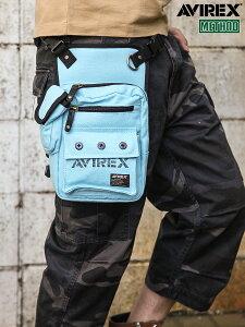 【AVIREX】BU-AERO LEG BAG〔LIMITED〕 | アヴィレックス アビレックス ミリタリー ブランド レッグバッグ ボディバッグ ウエストポーチ ウエストバッグ シザーバッグ ショルダーバッグ メンズ レ