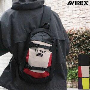 【AVIREX】STREET SLING BAG AX2042 ◇   BAG バッグ ボディバッグ 縦型 スリング型 人気 メンズ レディース ユニセックス 男女兼用黒 ブラック 赤 レッド 黄色 ライム 紫 パープル ストリート アヴィ