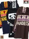<送料無料>【PANDIESTA JAPAN】 パンダ 刺繍入り 耳付き パーカー ワンピース〔別注〕 | 和柄 ロングパーカー プル…