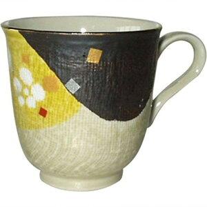 【 半額 セール 】桃 平安(黄); コーヒー碗 ダンNo271239 有田焼 日本製 【 コーヒーカップ カップ タンブラーコーヒー おしゃれ 食器 結婚式 引き出物 】