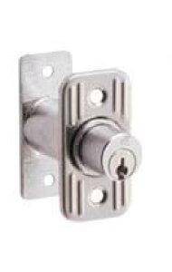 アルファ プッシュ栓錠503 サッシ、木製引き戸の外締りに
