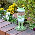 【縁起物】おしゃれなカエルの置物!庭や玄関に飾ってかわいい大きめのものを教えてください。