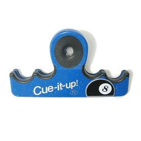 ビリヤード キューホルダー CUE IT UP ブルー 持ち運び 安全 ホルダー キューイットアップ 海外製 輸入品 9ボール 8ボール