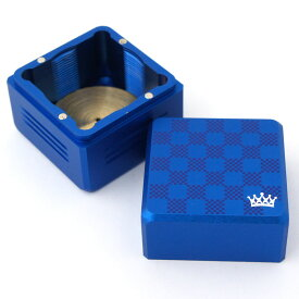 ビリヤード アジャスタブル チョークケース ブルー +調整用レンチ付き