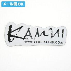 【メール便可】 カムイ ワッペン 白