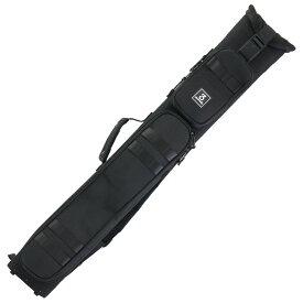 ビリヤード キューケース 送料無料 スリーセカンズ ハードケース ブラック/黒 3B5S (バット3本シャフト5本収納) 軽量 おしゃれ 格好良い カッコイイ かわいい 持ち易い リュックサック バックパックスタイル