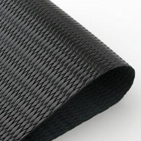 ビリヤード 革巻き用グリップレザー 皮巻き ダイヤ型押 黒 DLW-BL