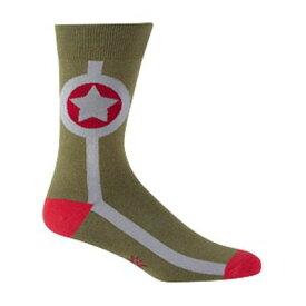 靴下 メンズ ソックス Sock It To Me Men's Crew Socks Army Star アーミー 靴下 メンズ ソックスアクセサリー メンズジュエリー ジュエリーギフト プレゼント お祝い 結婚式 礼服 結婚式 冠婚葬祭 ビジネス スーツ メンズ 男性 彼氏 夫 新生活 父の日 バレンタイン