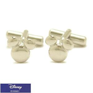 ミッキー マーク ミッキーマウス シルバー カフス カフリンクス カフスボタン Disney ディズニー スーツアクセサリー専門店 プレゼント プチギフト おしゃれ カフスマニア