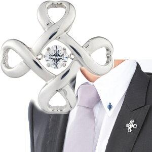 Crossforクロスフォー Crossfor logo4 ラペルピン メンズ ブローチ NY-T001 日本製 ブランド 結婚式 スーツアクセサリー専門店 父の日 ギフトにも 男性 ブライダル 披露宴 二次会 お呼ばれ パーティー