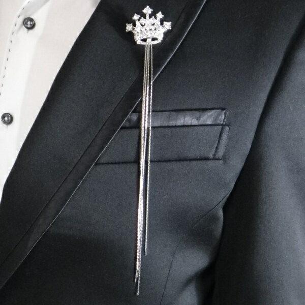 楽天市場】スーツ ラペルピン チェーンの通販