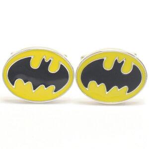 着けたら心もヒーロー? バットマンマーク カフス カフスボタン カフリンクス cufflinks cuffs メンズ 男性 結婚式 ユニーク おもしろ 面白 面白い キャラクター スーツアクセサリー専門店 ブライ