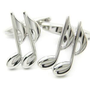 [福袋A]音楽好きさんに 音符 カフス カフスボタン カフリンクス cufflinks cuffs メンズ 男性 ユニーク おもしろ 面白 面白い 音楽 楽器 誕生日 プレゼント おしゃれ カフスマニア スーツアクセ