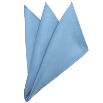 供日本製造絲綢100%光澤度的美麗的口袋主任段子淡藍色口袋廣場西服使用的主任西服配飾專營商店生日禮物微型禮物漂亮的袖口狂熱者