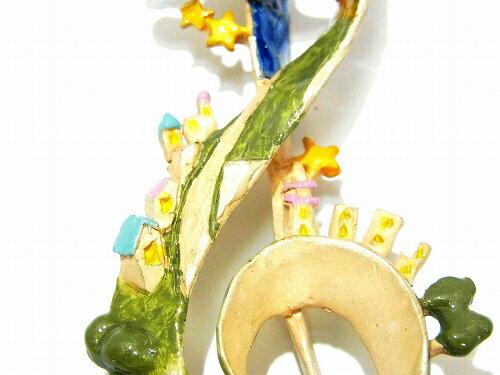 パルナートポックフクロウ『ハイペリオンネックレス』【PalnartPocパルナートポック】【BroughSuperiorブラフシューペリア】送料無料音符音楽バード鳥アクセサリー個性的グッズチャームプレゼントかわいいおしゃれ人気ブランドとり記号
