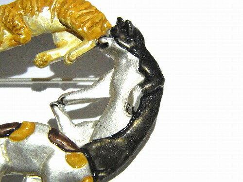 パルナートポックブローチ★メール便送料無料★『ネコ』PalnartPocpalnartpocねこ猫アニマル動物アクセサリーモチーフ個性的ジュエリーおもしろかわいい三毛猫はちわれブチとら猫誕生日プレゼント女性雑貨ペットキャット人気しっぽ