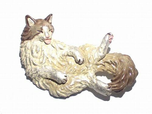 パルナートポックブローチネコ猫★メール便送料無料★『メインクーン』PalnartPocねこアニマル動物アクセサリーモチーフ個性的ジュエリーおもしろかわいい誕生日プレゼント女性女子雑貨ユニークキャットメルヘン人気バースデーキッズお洒落