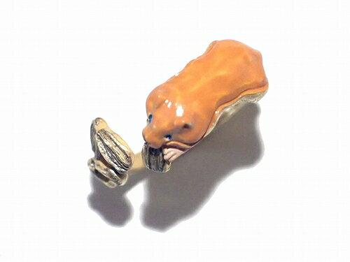 パルナートポックリング★メール便送料無料★『ハムスターフリーサイズ』palnartpoc指輪メルヘン個性的モチーフ誕生日アクセサリージュエリーかわいいヒマワリ向日葵種小動物ネズミ鼠キッズ子供バースデーレディースプレゼント雑貨面白い