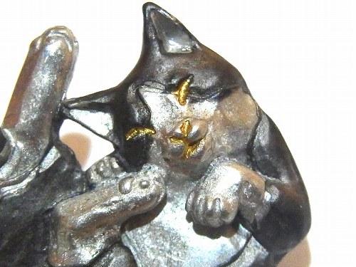 パルナートポックブローチネコ★メール便送料無料★『トムピン』【PalnartPoc】ブラフシューペリアねこ猫キャットアニマルアクセサリー個性的動物プレゼントおもしろピンブローチかわいいジュエリーはちわれ可愛い人気ハンドメイドフェミニン