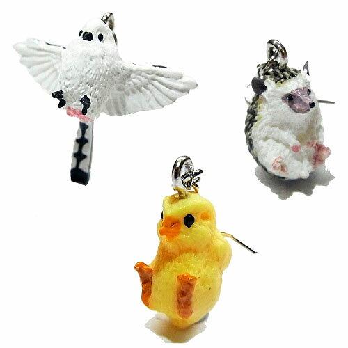 鳥ピアス動物CLINGクリングRELAXリラックスシマエナガハリネズミ雑貨グッズ奇抜ヒヨコフックアクセサリーバード個性的動物プレゼント誕生日おもしろかわいいジュエリー可愛いアニマルモチーフ星猫ネコチャームユニークお祝い春物イヤリング