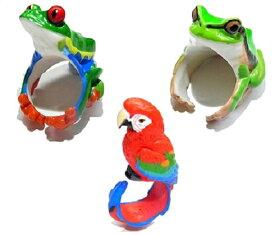 動物 リング CLING クリング RELAX リラックス 個性的 指輪 誕生日 男子 ユニーク 変わった おもしろ カエル 蛙 かえる フロッグ インコ 鳥 バード アクセサリー ジュエリー かわいい レディース プレゼント 女性 女子 雑貨 星 置物 グッズ 目立つ 人気 お祝い 春物 ブローチ
