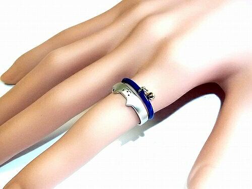 ルチカリングネコ【Luccica】★メール便送料無料★『トムキャット』(カラー:ブルー)約11号フリーtomcat猫ねこシンプル指輪動物アニマルメルヘンかわいいおもしろジュエリープレゼントアクセサリー可愛いフェミニン人気ナチュラル贈り物
