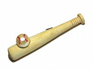 ルチカ ブローチ ★ メール便送料無料 ★ 『 Baseball 』 Luccica お洒落 ジュエリー スポーツ 野球 バット ベースボール プロ野球 大ぶり 目立つ 個性的 面白い 誕生日 プレゼント 女性 雑貨 メン