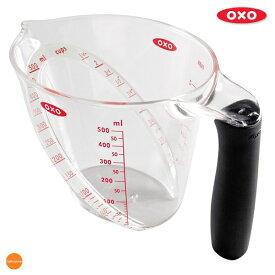 OXO アングルドメジャーカップ 中 500ml 1114980[関連:オクソー 家庭用 計量カップ 水マス 食器洗浄機対応 電子レンジ対応]