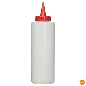 ディスペンサー 400cc 赤/白 BDI-02[関連:遠藤商事 業務用 調理小物 調味料入れ ボトル 容器 ケチャップ マスタード マヨネーズ ドレッシング]