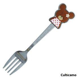 くまのがっこう ジャッキー フォーク 780039 OKM-01[関連:金正陶器 日本製 カトラリー ステンレス お子様食器 かわいい the bears' school]