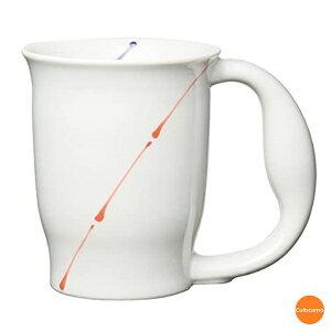 ほのぼの マグカップ ライン No.722 磁器 RMG-17[関連:青芳製作所 業務用 福祉 介護 高齢者 保冷 保温 2重構造 食器 コーヒーカップ マグ グラス]