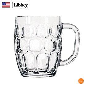 リビー ディンプル ジョッキ No.5355 569cc 6ケ入 RLB-GC[関連:Libbey アメリカ 業務用 ビールマスター ガラス ビアジョッキ ビールジョッキ マグカップ]