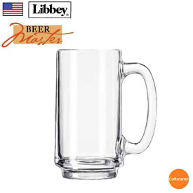 リビー ハンドルマグ No.5012 370cc 6ケ入 RLB-FR[関連:Libbey アメリカ 業務用 ビールマスター ガラス ビアジョッキ ビールジョッキ マグカップ]