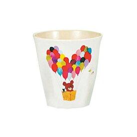 くまのがっこう メラミンお子様食器 カップ M-2818J 【ラッピング不可】[関連:関東プラスチック 洗浄機対応 業務用 かわいい キッズ 子供用 食器 まんまるジャッキー ランチ 給食 保育園 幼稚園]