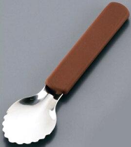 18-8 シリコン柄 アイスクリームスクープ FAI-H7[関連:業務用 アイスクリーム用品 シャーベット デッシャー スコップ]