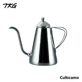 TKG 18-8 ドリップピッチャー 1500cc  FKC-93[関連:遠藤商事 業務用 喫茶用品 ステンレス コーヒー ケトル やかん ポット]
