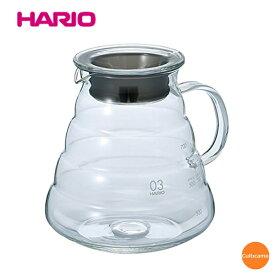 ハリオ V60レンジサーバー クリア XGS-80TB 800cc FLV-02[関連:HARIO コーヒー用品 耐熱ガラス 電子レンジ対応 デザイン サーバー デカンタ ガラスポット]