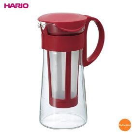 ハリオ 水出し珈琲ポットミニ レッド MCPN-7 1,000ml FMZ-08[関連:HARIO コーヒー用品 人気商品 アイスコーヒー ドリップポット]
