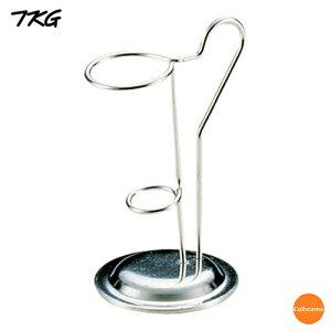 TKG 18-8 ラセン トップコーンスタンド PTT-02[関連:業務用 ステンレス製 アイスクリーム用品 ソフトクリーム スタンド]