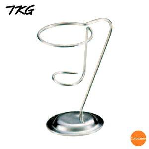 TKG 18-8 ラセン トップコーンスタンド ジャンボ PTT-01[関連:業務用 ステンレス製 アイスクリーム用品 ソフトクリーム スタンド]