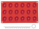 マルテラート フレキシブルノンスティックモルド 41 ミニサバラン 18ケ取 SF010 WSL-36[関連:Martellato イタリア ブランド 製菓用品...