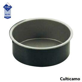 ブラックフィギュア デコレーションケーキ 共底型 15cm D-003 WDK-13[関連:霜鳥製作所 業務用 製菓用品 お菓子作り 洋菓子 フッ素加工 丸型 ケーキ型 デコ型]